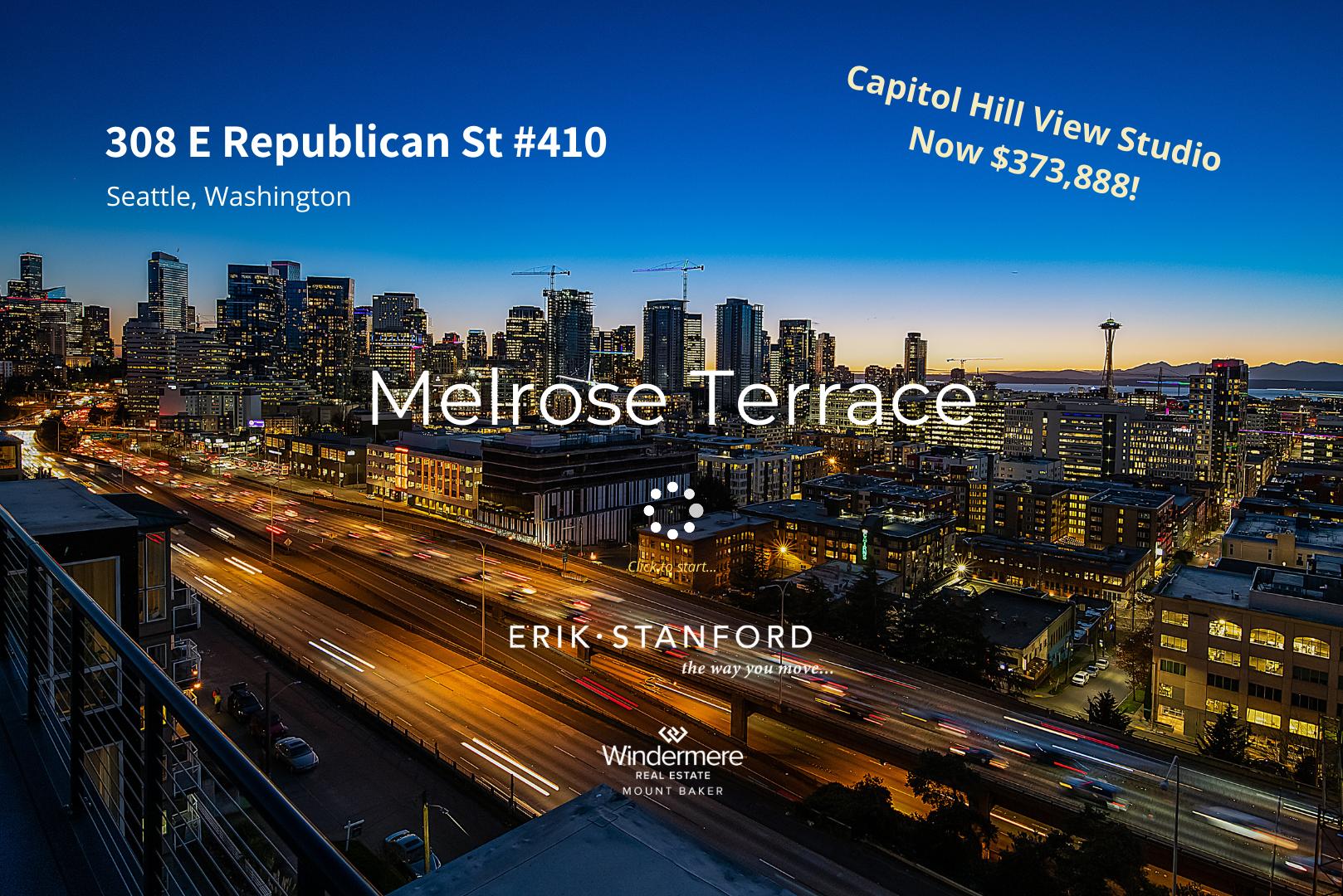 308 E Republican St #410 - Now $373888