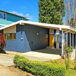 Loved for over 56 years, this gorgeous mid-century modern home seeks her new proud owner. Understated from the street, this rock-solid beauty is more than meets the eye!  A soaring vaulted sky-lit carport welcomes you...