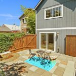This west-facing space with mature landscaping gets tons of light well into the evening. Gates on both sides make for easy access and rare, total privacy in the heart of the city.