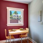 ...this cheerful west-facing breakfast nook...