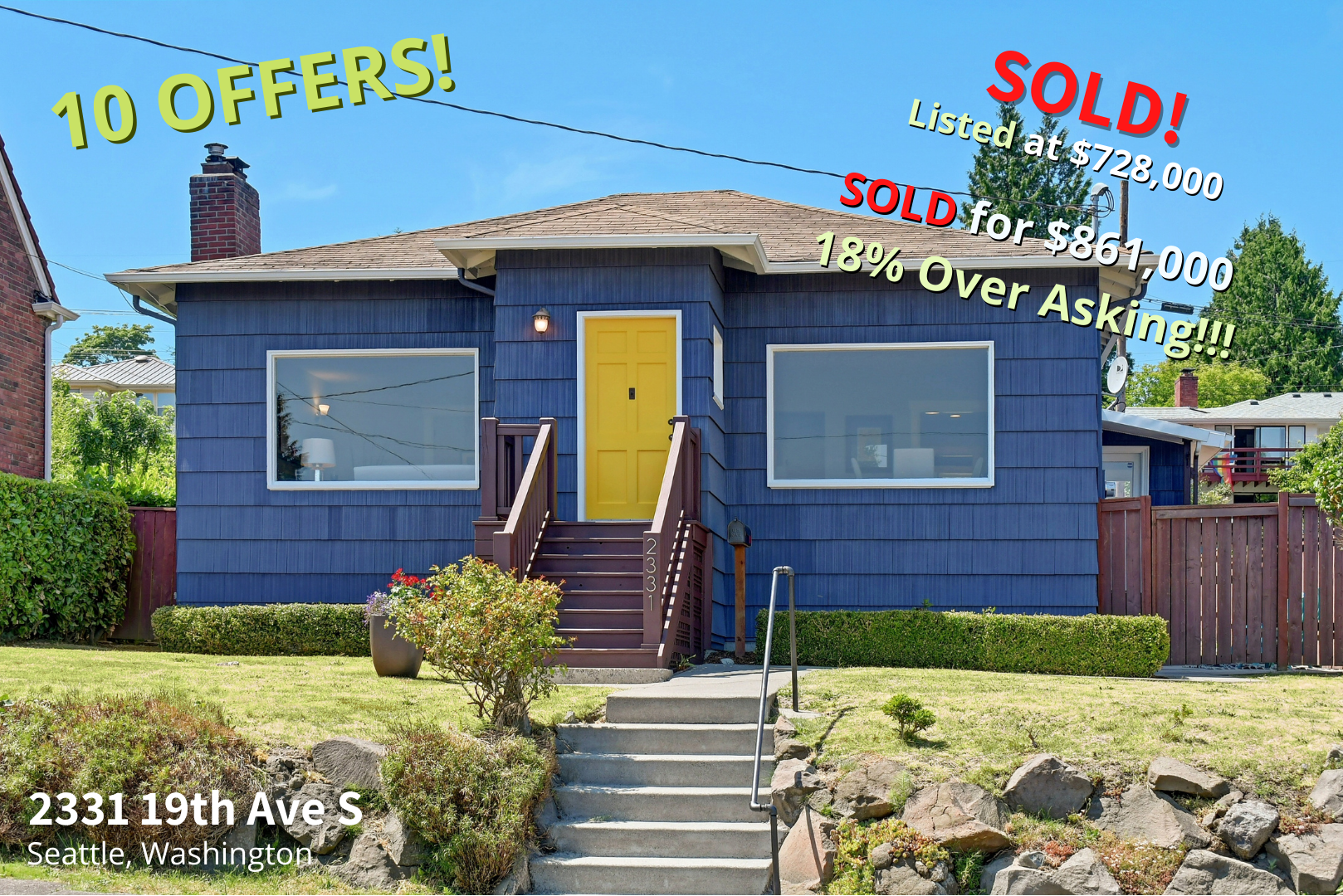 SOLD - 2331 19th Ave S